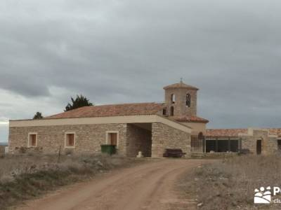 Hoces y cañones del Río Piedra y del Río Gallo -- Laguna Gallocanta -Ermita Gallocanta;rutas send